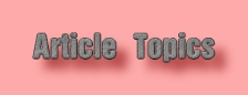 Article Topics